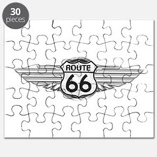 Route 66 Puzzles, Route 66 Jigsaw Puzzle Templates