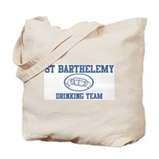 ST BARTHELEMY drinking team Tote Bag