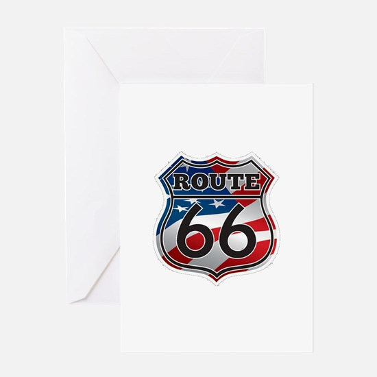 Route 66 Greeting Cards