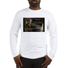 Newton's Absolute Space: Long Sleeve T-Shirt