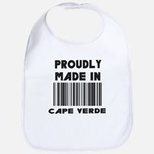 Proudly Made in Cape Verde Bib