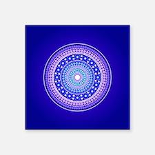 Blue Moon Mandala Sticker