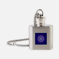 Blue Moon Mandala Flask Necklace