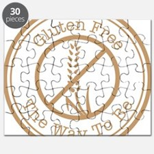 Gluten Free The Way To Be Puzzle