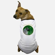 Elkhound Peace Dog T-Shirt
