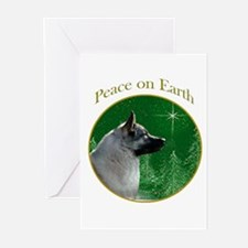 Elkhound Peace Greeting Cards (Pk of 20)
