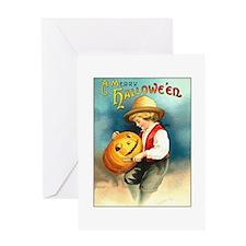 Pumpkin Carving Greeting Card