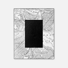 Vintage Map of Boston (1878) Picture Frame