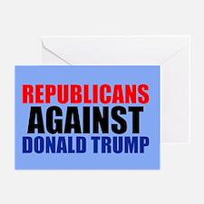 Anti Trump Republican Greeting Cards (Pk of 10)