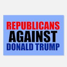 Anti Trump Republican Postcards (Package of 8)