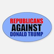 Anti Trump Republican Decal