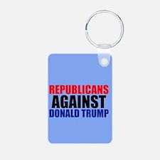 Anti Trump Republican Keychains