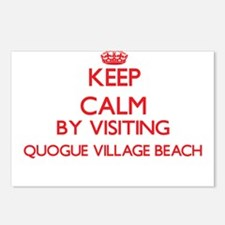 Keep calm by visiting Quo Postcards (Package of 8)