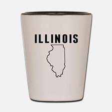 Illinois Shot Glass