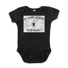 Cute Nanny Baby Bodysuit