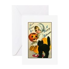 Halloween Cutie Greeting Card
