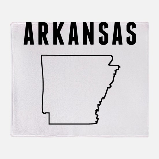 Arkansas Throw Blanket