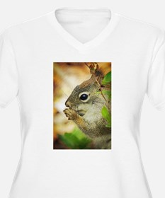 Red Squirrel Plus Size T-Shirt