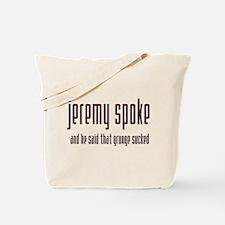 Speaking of Grunge Tote Bag