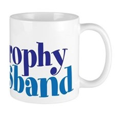 Trophy Husband Funny Valentine Mugs