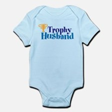 Trophy Husband Funny Valentine Body Suit