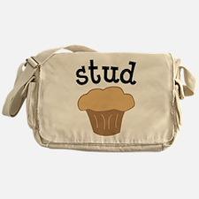 Stud Muffin Messenger Bag