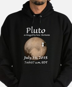 Pluto as imaged by New Horizons Hoodie