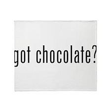 Got Chocolate? Throw Blanket