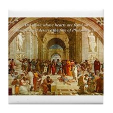 Raphael School of Athens: Tile Coaster