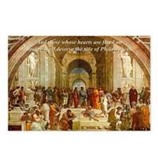 Raphael School of Athens: Postcards (Package of 8)