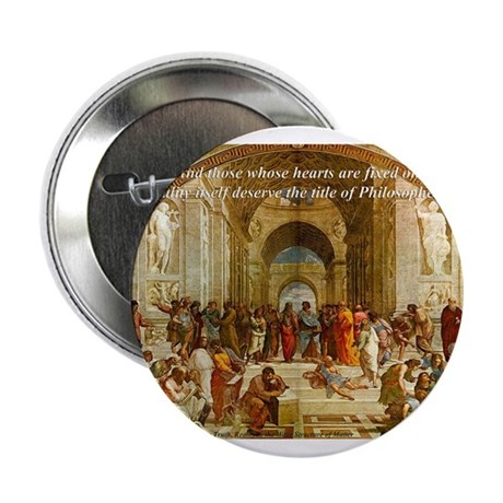 Raphael School of Athens: Button