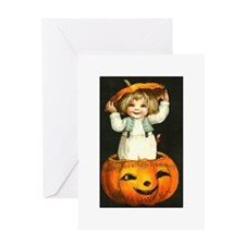 Halloween Baby Greeting Card
