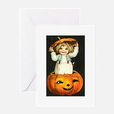Halloween Baby Greeting Card