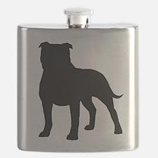 Staffordshire Bull Terrier Flask