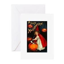Little Red Witch Greeting Cards (Pk of 10)