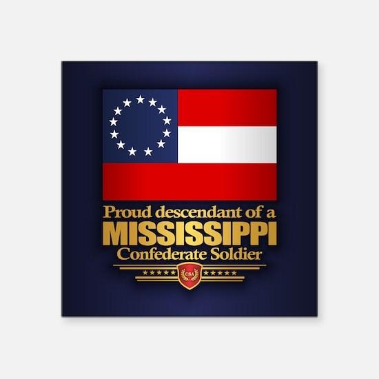 Mississippi Proud Descendant Sticker