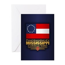 Mississippi Proud Descendant Greeting Cards