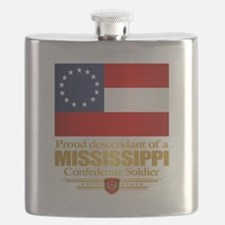Mississippi Proud Descendant Flask