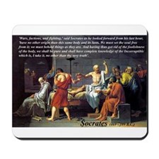 Death of Socrates: Mousepad
