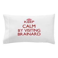 Keep calm by visiting Brainard New Jer Pillow Case