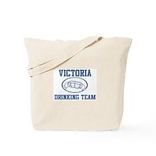 VICTORIA drinking team Tote Bag