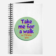 Take me for a Walk Journal