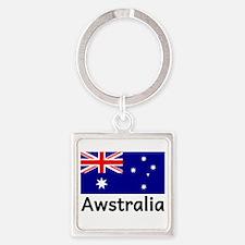 Awstralia Blue Keychains