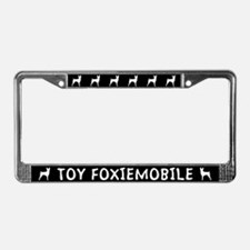 Toy Foxiemobile Fox Terrier License Plate Frame