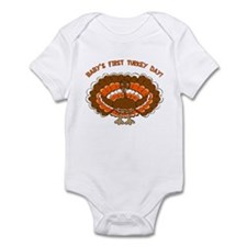 Baby's First Turkey Day Infant Bodysuit
