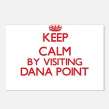 Keep calm by visiting Dan Postcards (Package of 8)