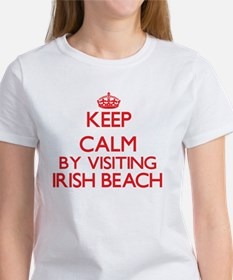 Keep calm by visiting Irish Beach Ca T-Shirt