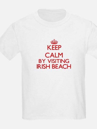 Keep calm by visiting Irish Beach Ca T-Shirt