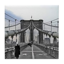 Brooklyn Bridge Tile Coaster