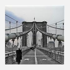 Brooklyn Bridge Tile Coaster